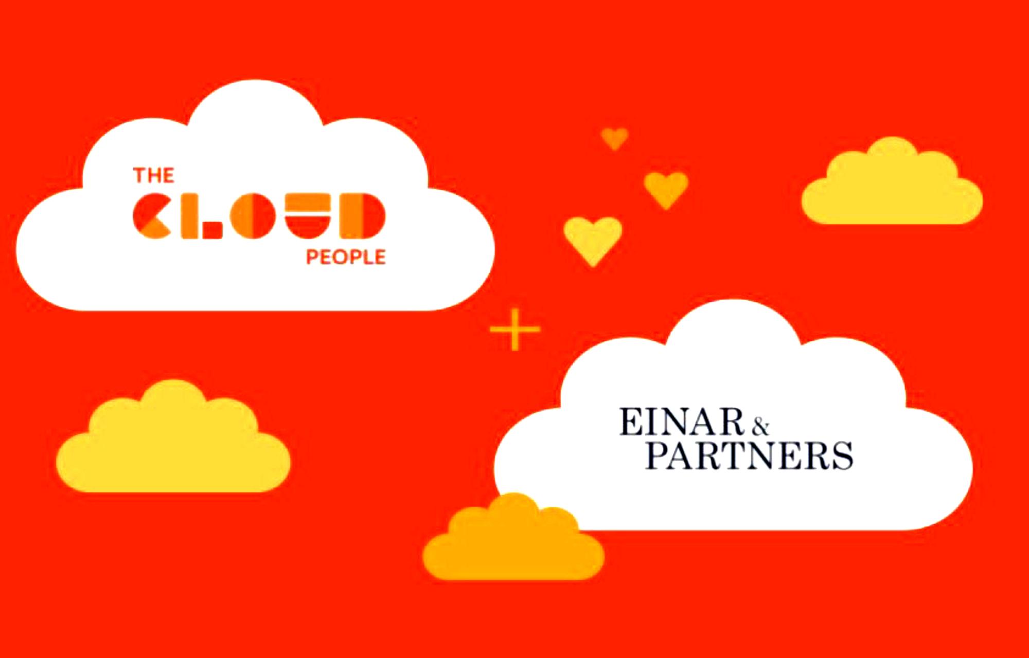 The Cloud People inngår samarbeid med Einar & Partners