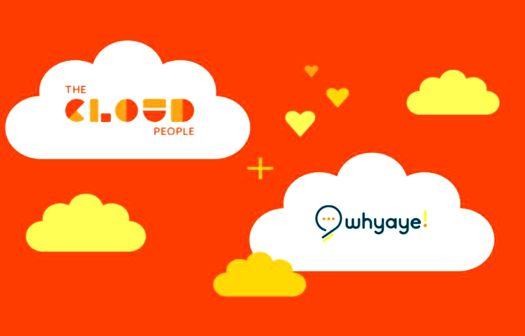 The Cloud People og whyaye! inngår samarbeid