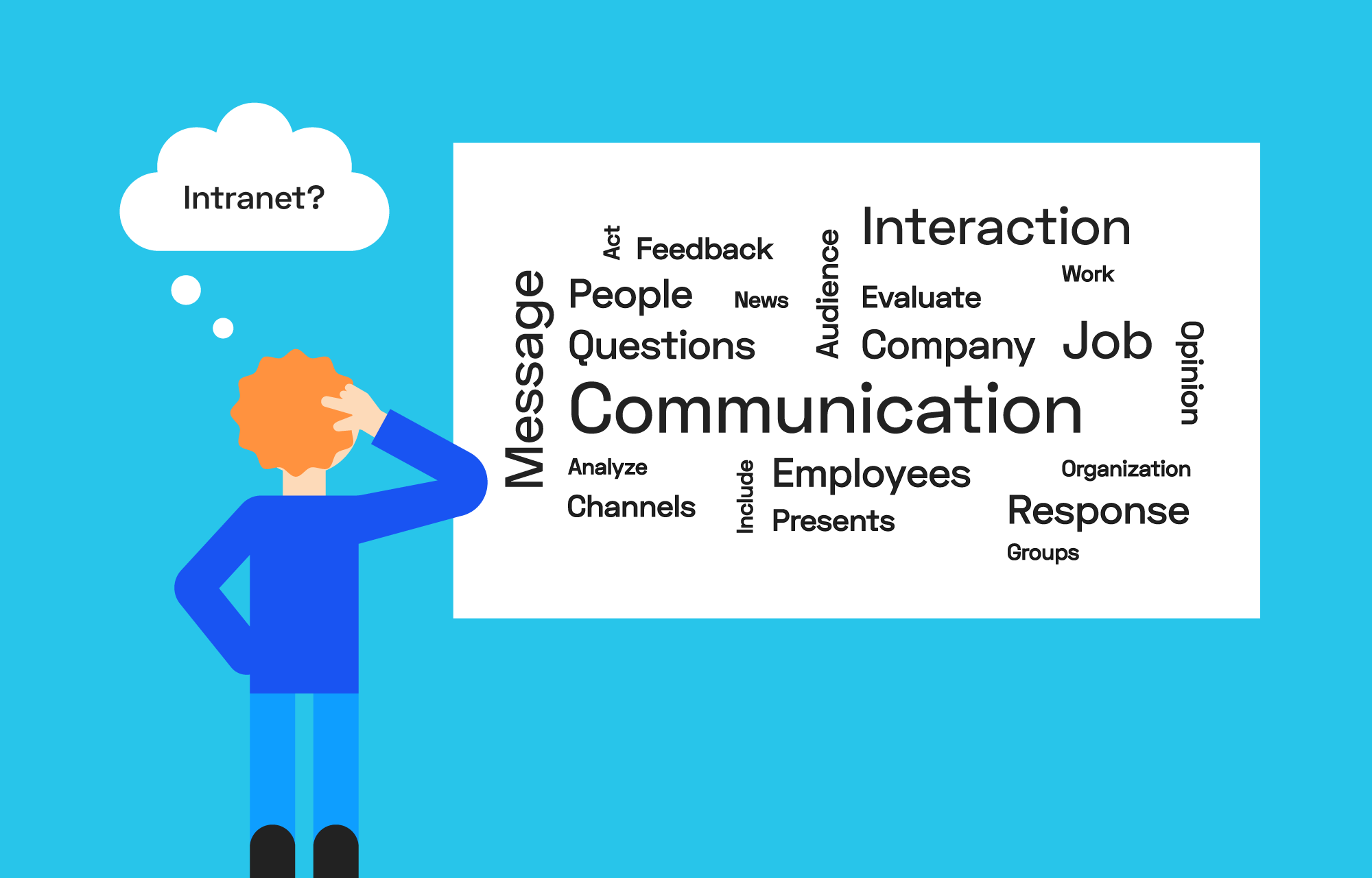 Could an intranet improve internal communication in your company?