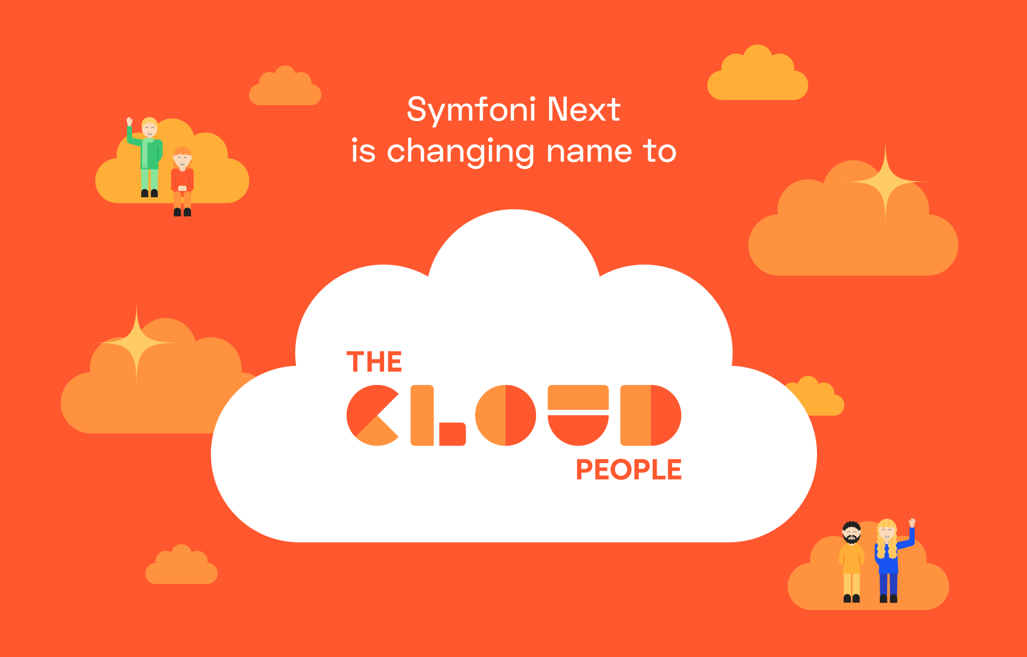 Symfoni Next is changing name to The Cloud People