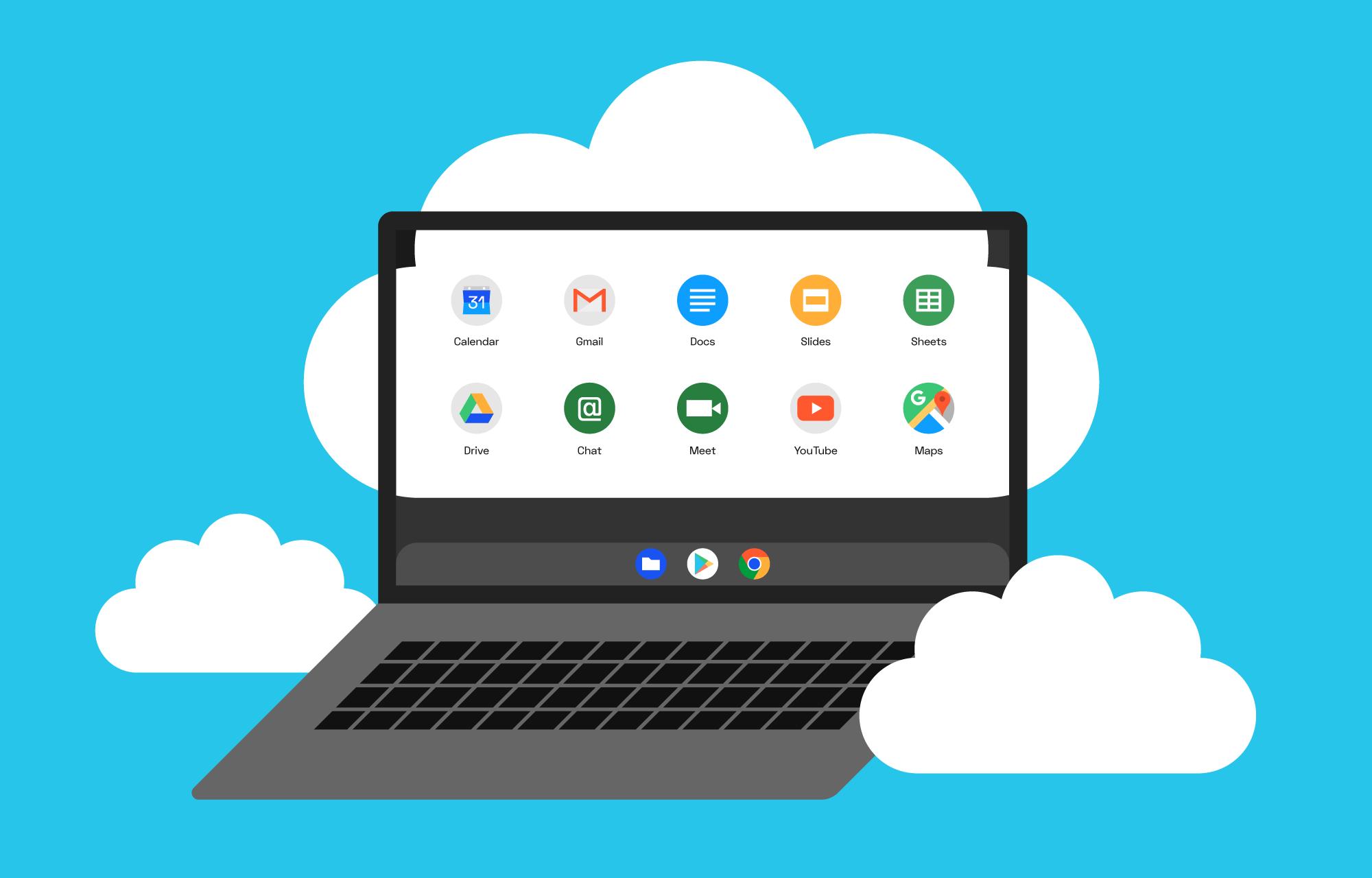 Hvorfor velge Chromebook?