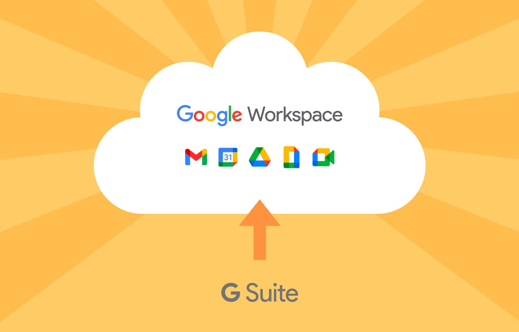 G Suite er historie – ta vel imot Google Workspace!