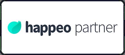 The Cloud People partner badge Happeo.
