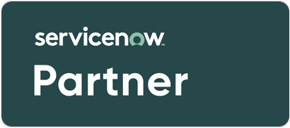 The Cloud People partner badge ServiceNow.